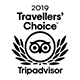 Winnaar van de Tripadvisor Travellers' Choice 2019.