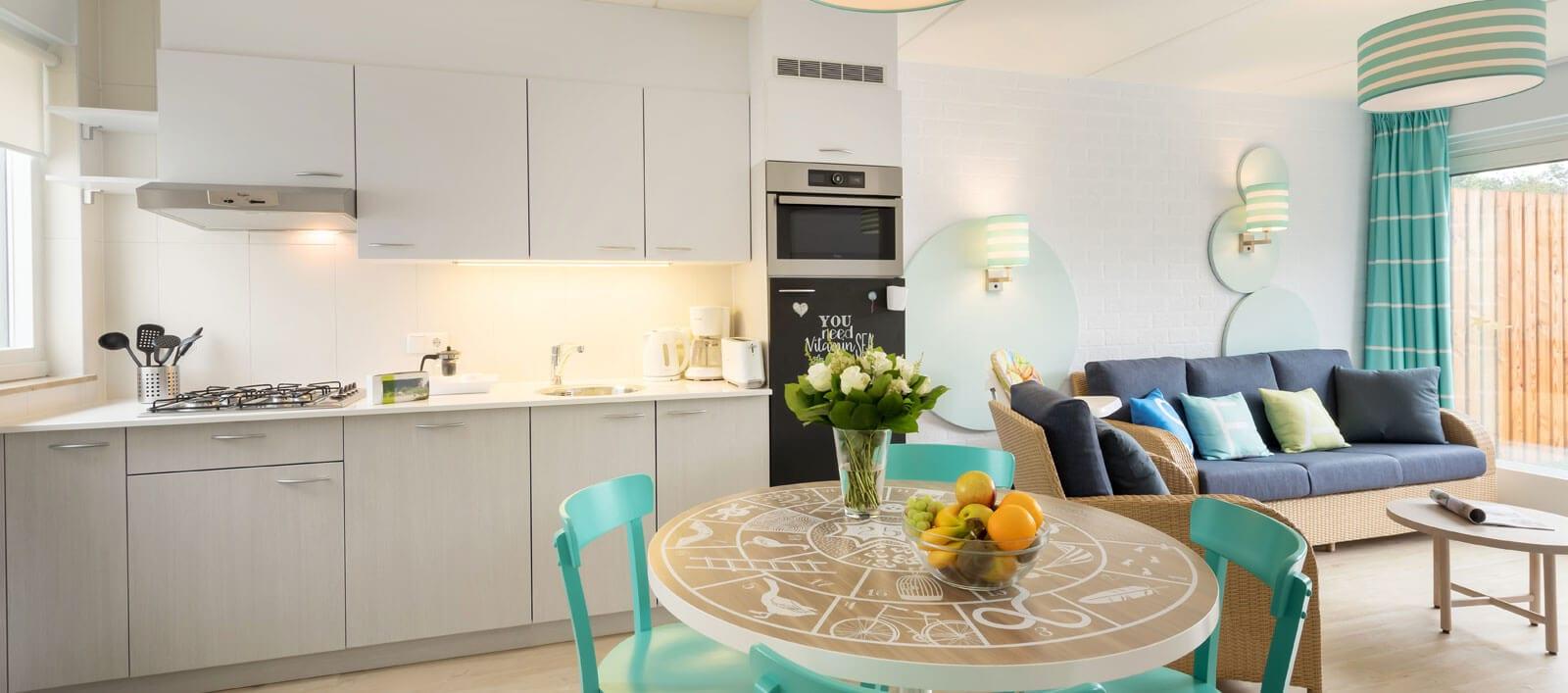 De cottages en hotelkamers in Park Zandvoort zijn vernieuwd!