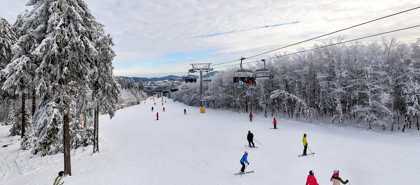 Skifahren im Sauerland - Park Hochsauerland