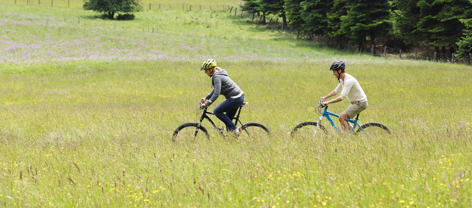 Een groot mountainbike-paradijs Les Ardennes