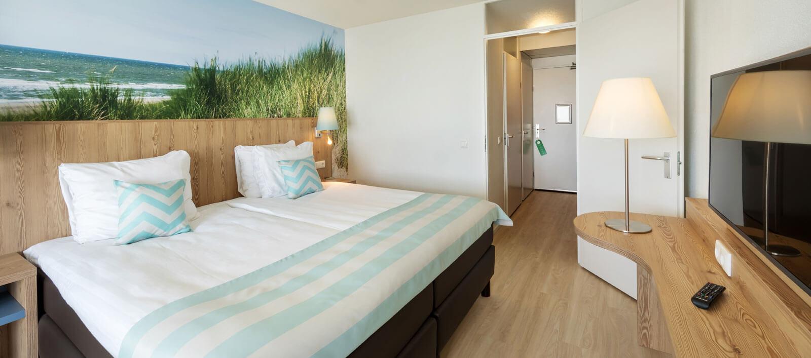 De hotelkamers in Park Zandvoort zijn vernieuwd!