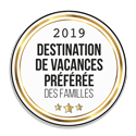 Destination de vacances préférée des familles 2019