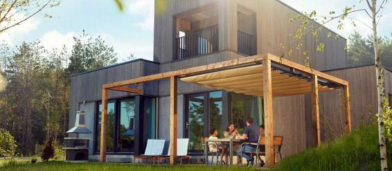 Nouveaux cottages à Terhills Resort, Dilsen-Stokkem