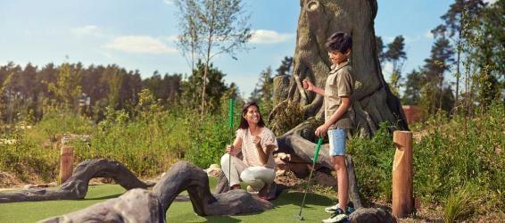 Adventure golf sfeer