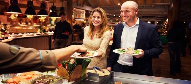 Culinaire arrangementen oud en nieuw