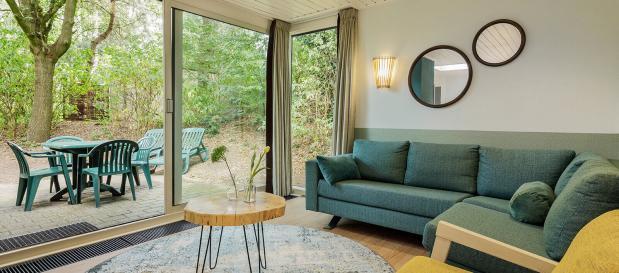 Vernieuwde en nieuwe bungalows/vakantiehuisjes in Center Pars