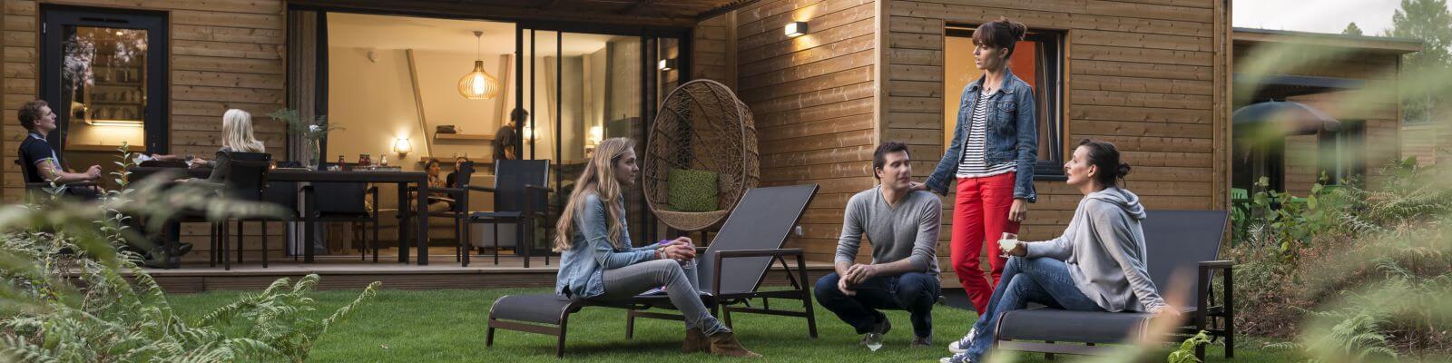 luxe bungalows Les Bois aux Daims