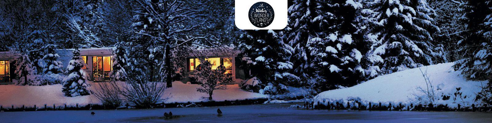 Winter Nacht cottage