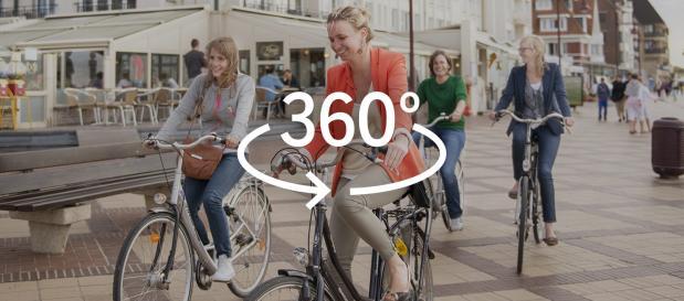 Vacances à vélo à De Haan