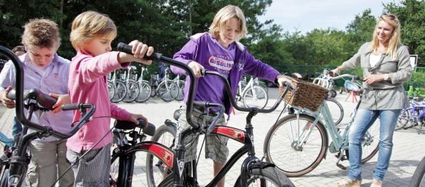 Bobbejaanland fietsen