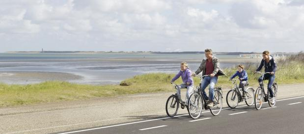 Deltapark Neeltje Jans fietsen