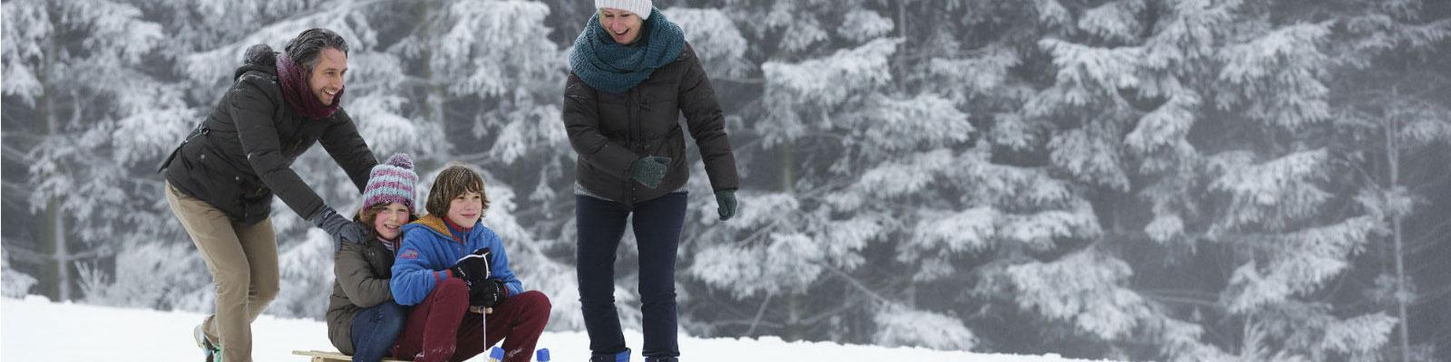 winter bei center parcs