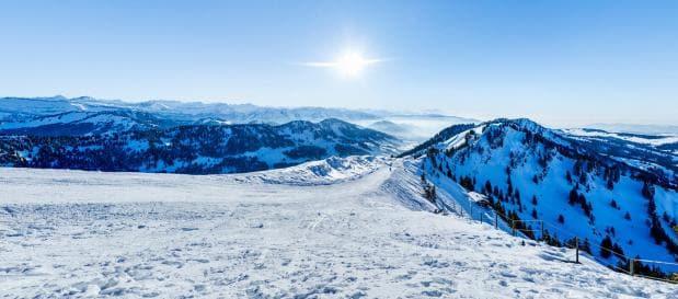Skiën in de Alpen, bij Park Allgäu van Center Parcs