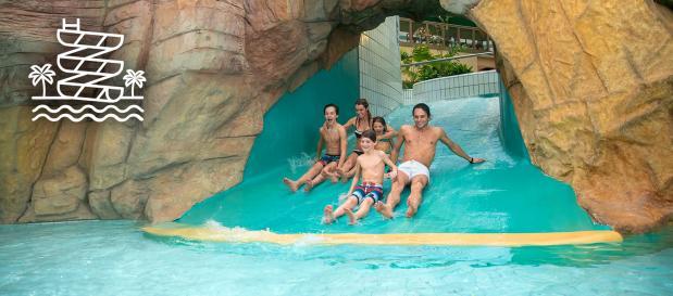 Onbeperkt naar tropisch zwemparadijs Aqua Mundo