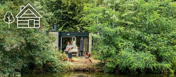 Compleet ingerichte cottages midden in de natuur