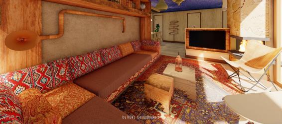 Nieuwe Avontuur cottage in Het Heijderbos (NL)