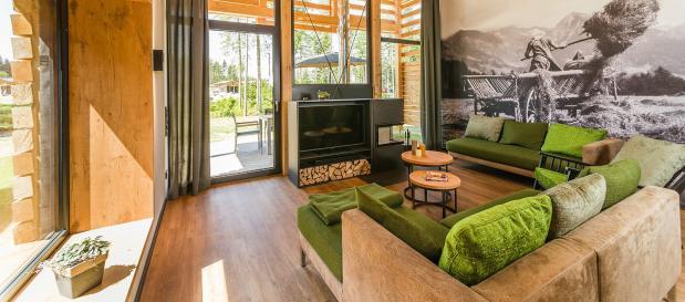 Exclusive-Ferienhäuser und Spa in Park Allgäu