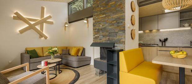 Vernieuwde cottages in De Eemhof