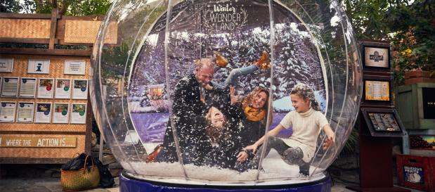 Experience the magic of Winter Wonderland at Center Parcs