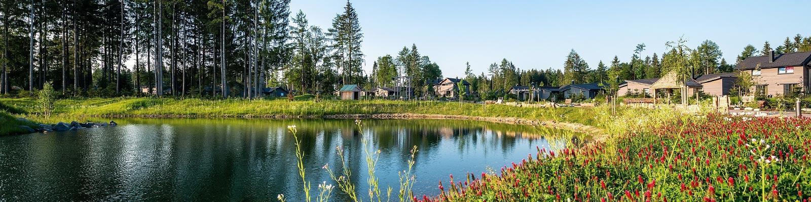 Vakantiepark in Leutkirch, Zuid-Duitsland