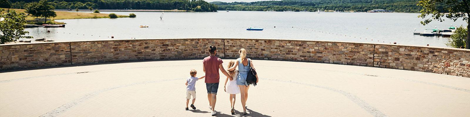 vakantiepark in Saarland, Duitsland