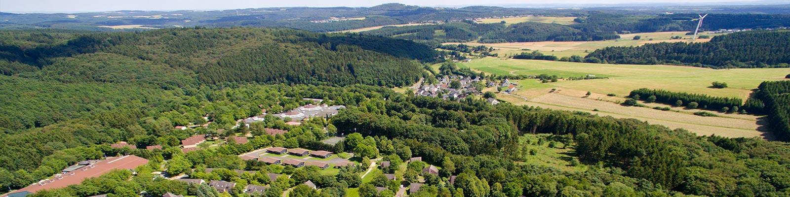 Holiday park in the german Rhineland