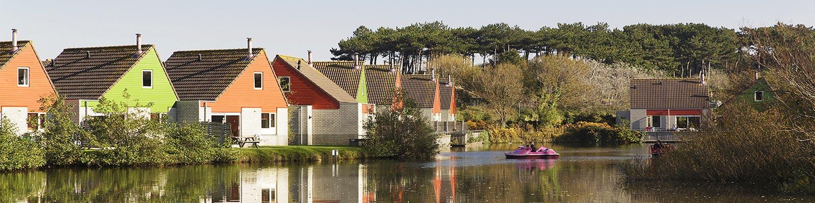Vakantiepark in Zandvoort, nabij Amsterdam, Noord-Holland