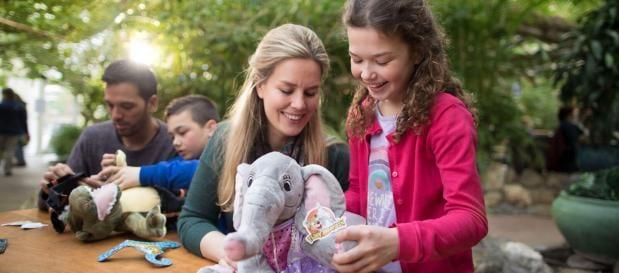 Kids Workshop: maak je eigen knuffel - beschikbaar op Les Ardennes, De Vossemeren en Erperheide