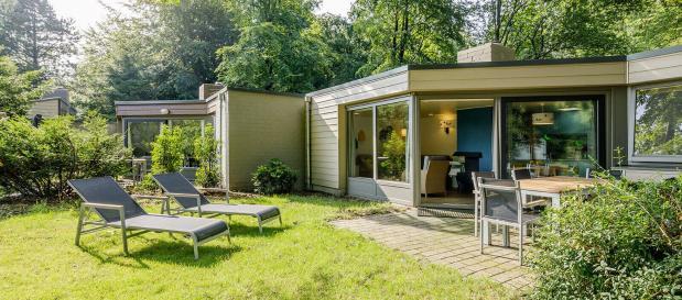 Met hemelvaart in een vernieuwde cottage op het Center Parc-park De Eemhof