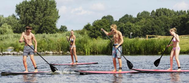 Stand-up Paddling Freunde