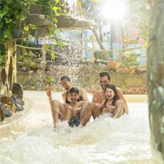 Verwarmd zwemmen in de kerstvakantie in de Aqua Mundo