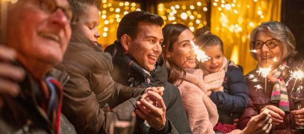 Oud en Nieuw vieren tijdens de kerstvakantie bij Center Parcs