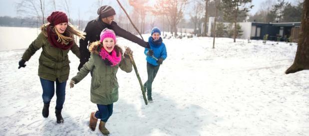 Geniet van een winters verblijf  in eigen land bij Center Parcs