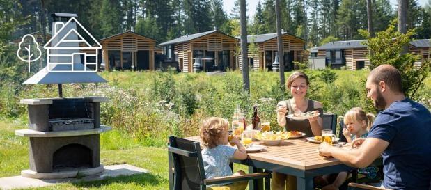 Ihr Ferienhaus inmitten der Natur