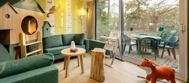 New themed Animals of the forest cottage in Erperheide