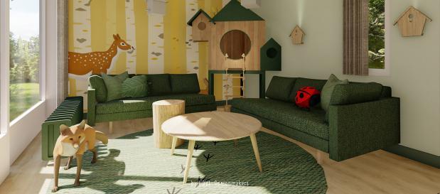 New and renewed accommodations in Erperheide (B)