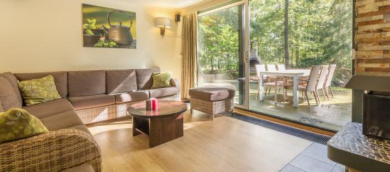 Accommodations at Center Parcs