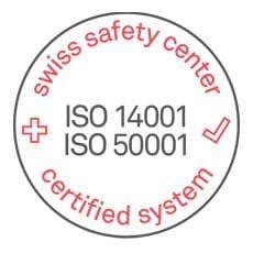 Die Zertifikate ISO 14001 und 50001 belegen unser Engagement für Nachhaltigkeit