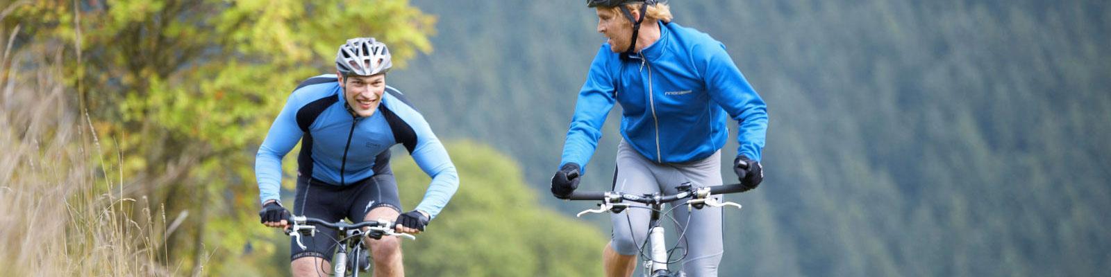 Radfahrer Eifel