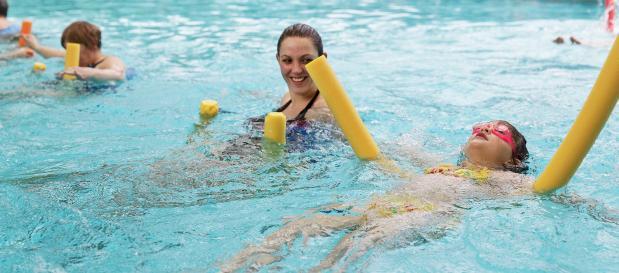 Abenteuerurlaub Aqua Workout