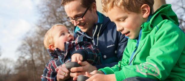 Urlaub mit Hund und Kind: Geocaching