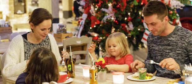weihnachten silvester restaurant