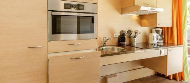 Barrierefreie Küche im Ferienhaus