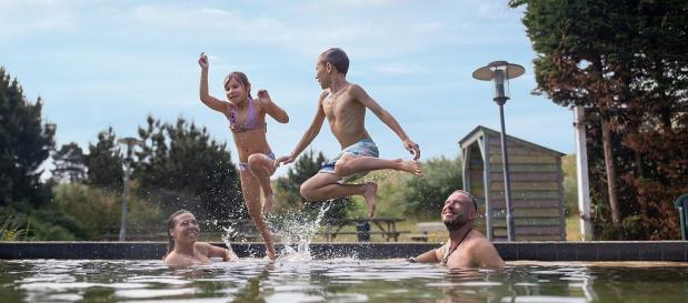 Schwimmen im Kurzurlaub