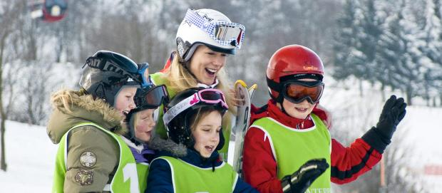 Skikurs im Sauerland