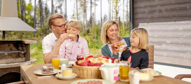 Familienzeit an Pfingsten