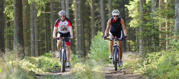 Mountainbiking in den Ardennen