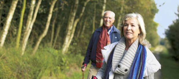 Aktivurlaub für jedes Alter mit Nordic Walking