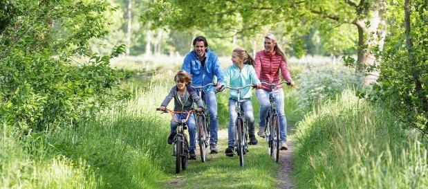 Radfahren in Erperheide