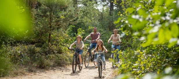 Familie Radfahren